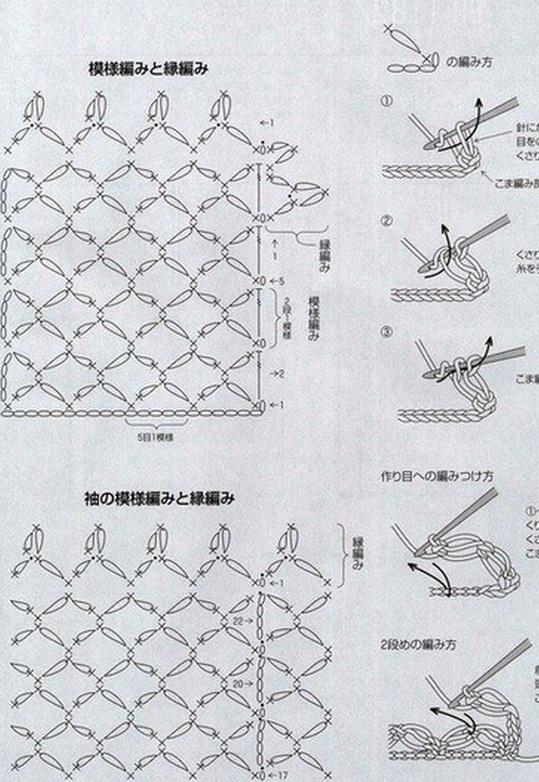 Вязание шали соломоновым узлом схема 77