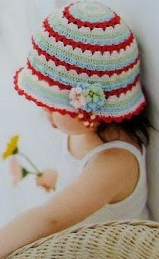 Панама для маленькой девочки