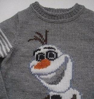 Схема для детского пуловера