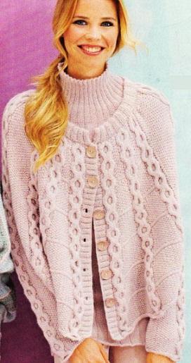 Двойка: жакет и пуловер