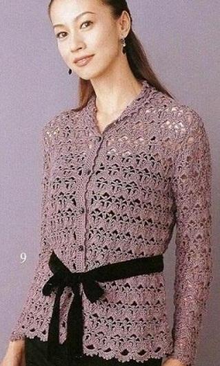 Фото стильных ажурных платьев с кардиганом