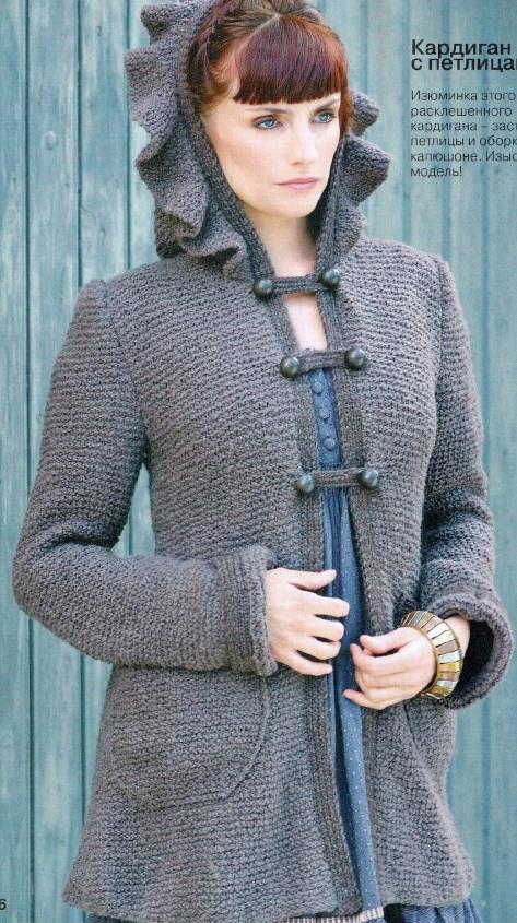 Вязание кардигана