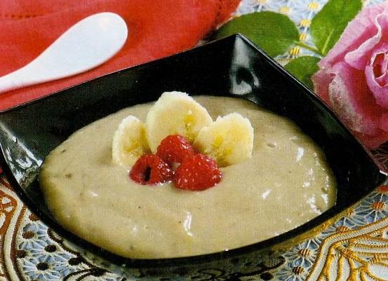 Холодный банановый суп