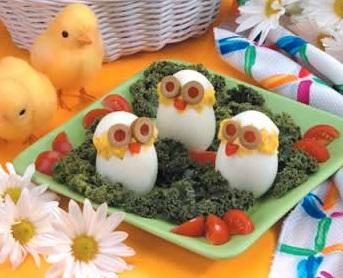 Цыплята к Пасхе.