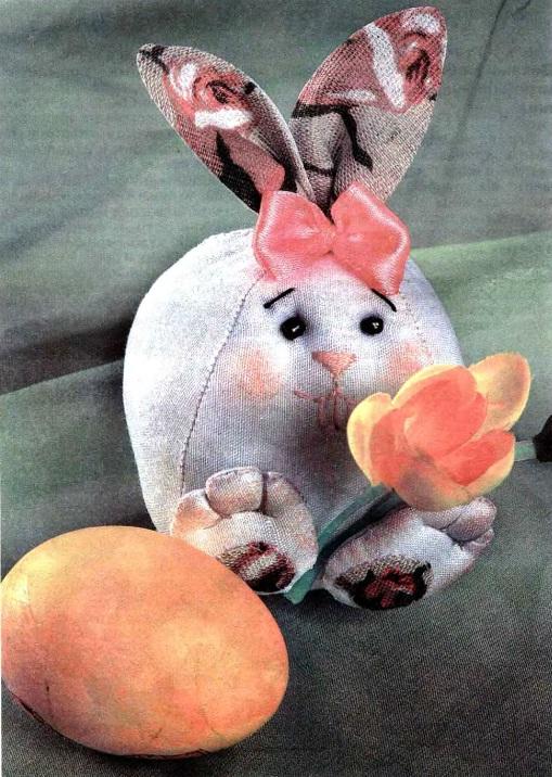Пасхальный заяц своими руками.