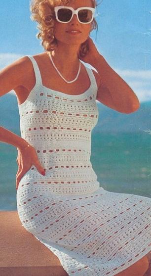 Вязание сарафан крючком