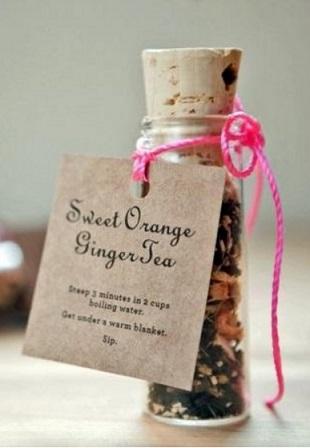 Подарок из чая своими руками