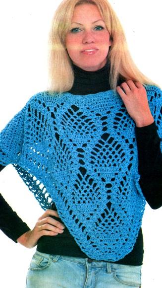 Tejer Crochet Poncho
