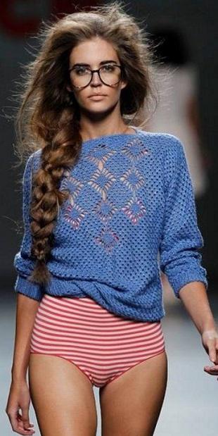 Идея пуловера крючком