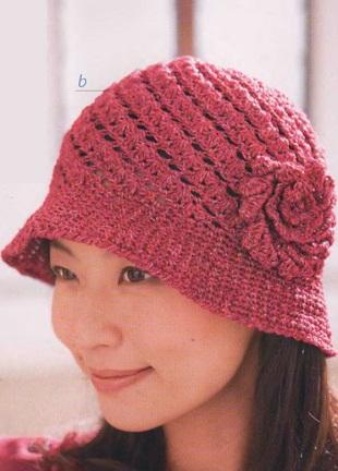Вязание шляпки крючком