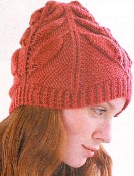 Вязаные шапки спицами - Будни