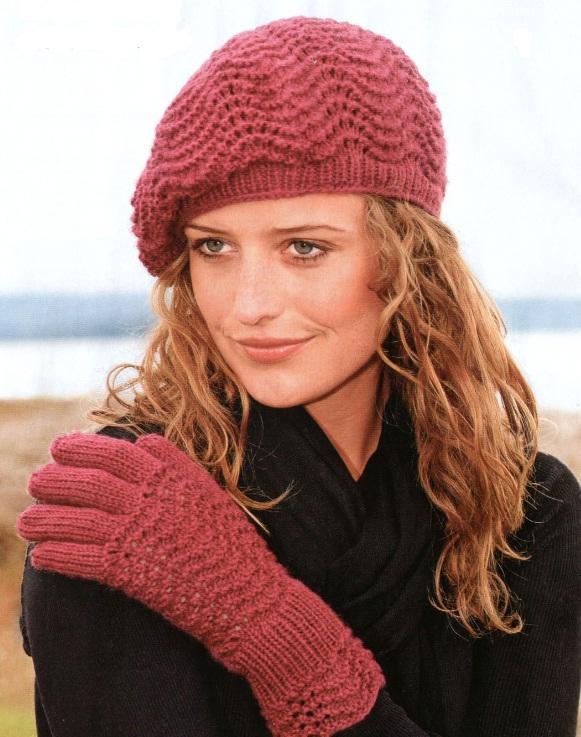 вязаные шапки 2011
