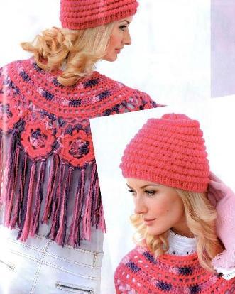 Схему вязания шапочки и