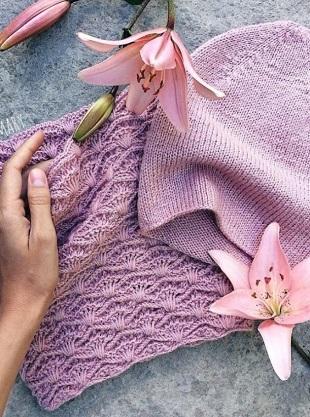 Узор для вязания шарфа крючком