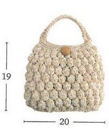 Простая летняя сумочка