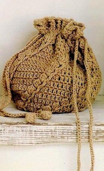 Схемы вязания рюкзачков