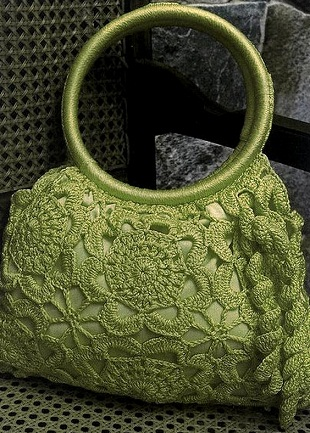 Ажурная сумка крючком