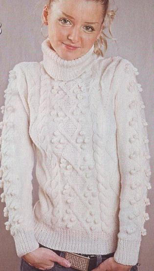 Связать свитер шерстяной