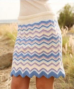 Схема бесплатно вязания юбки крючком
