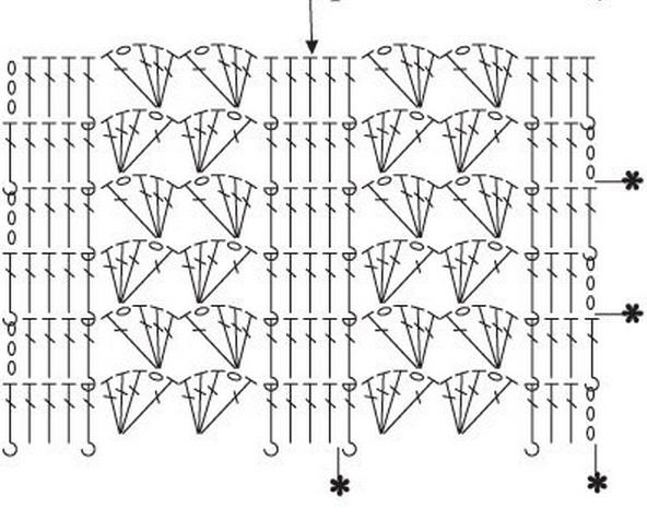 Вертикальные узоры для юбок