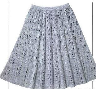 Как связать юбки крючком со схемы