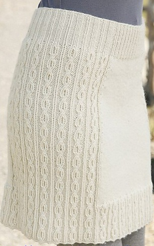 Схема вязания спицами юбочки 942