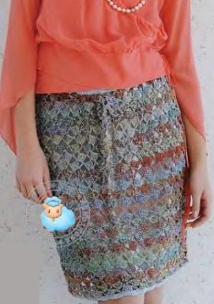 Вязание летней юбки