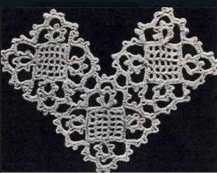 Королевский квадрат крючком