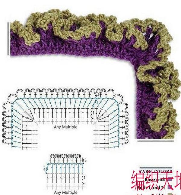 Чтобы вязаное крючком изделие