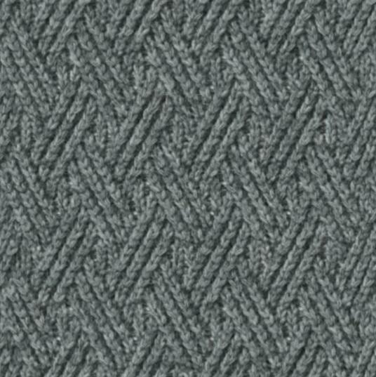 Жаккардовые узоры спицами со схемами 64