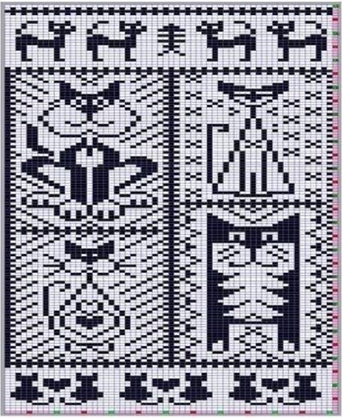 Подборка схем вязания котов