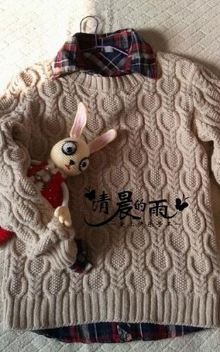 Узор для свитера спицами