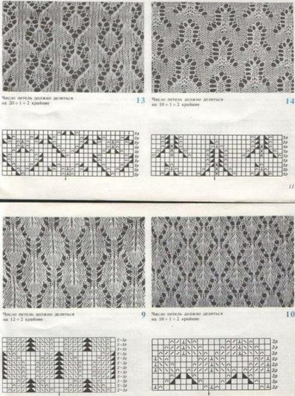 Схема для вязания паутинки спицами схемы 75